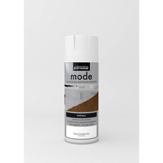 sous couche en bombe a rosol mode mat rustoleum gris 0 4 l leroy merlin. Black Bedroom Furniture Sets. Home Design Ideas