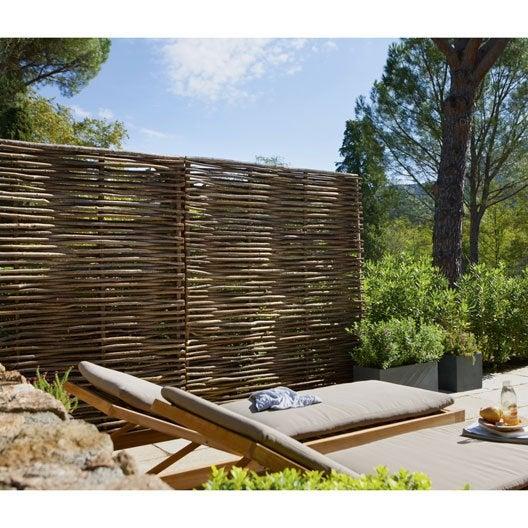 Diaporama un brise vue pour une bulle ciel ouvert for Panneau de jardin bois