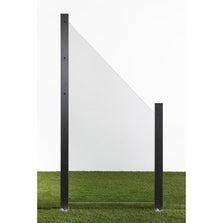 Panneau verre semi-vitré, l.90 cm x h.180 cm, naturel