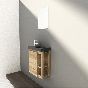 lave main meuble et s che mains wc abattant et lave mains leroy merlin. Black Bedroom Furniture Sets. Home Design Ideas