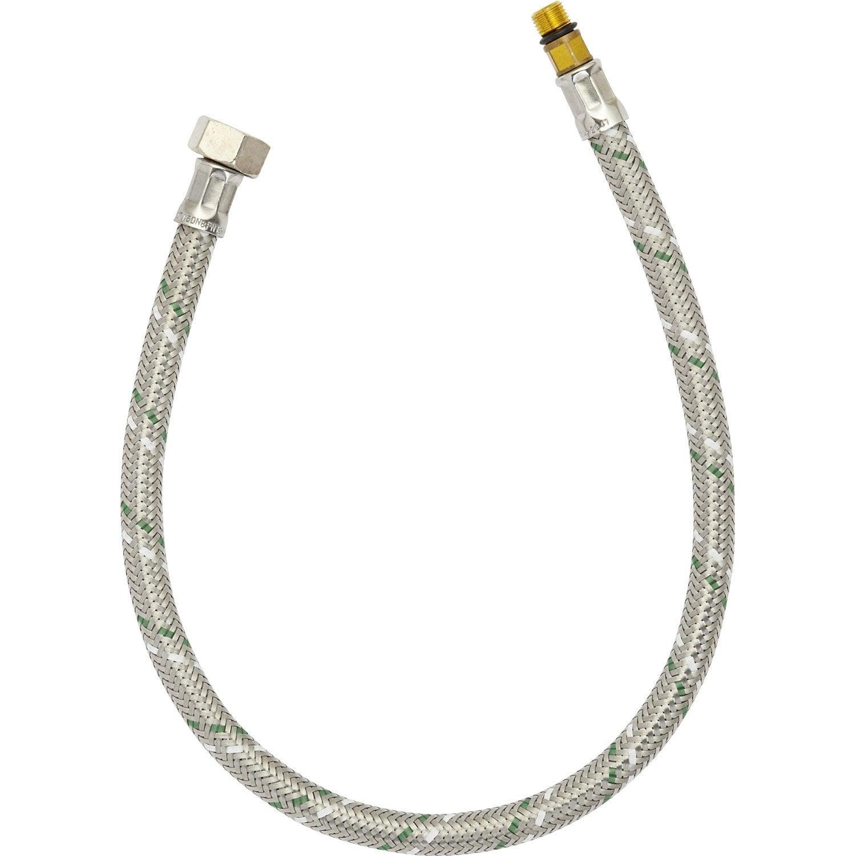 Flexible De Raccordement 50cm Mâlefemelle 12 X 17 Inoxlaitonsilicone 20 Ans