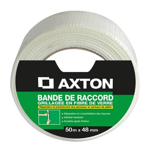 bande joint fibre de verre axton m x mm. Black Bedroom Furniture Sets. Home Design Ideas