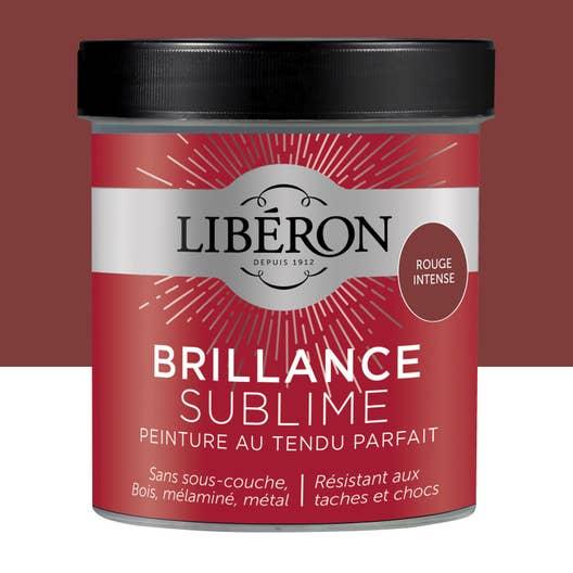 Peinture pour meuble objet et porte laqu liberon rouge intense 0 5 l leroy merlin - Peinture liberon pour meuble ...