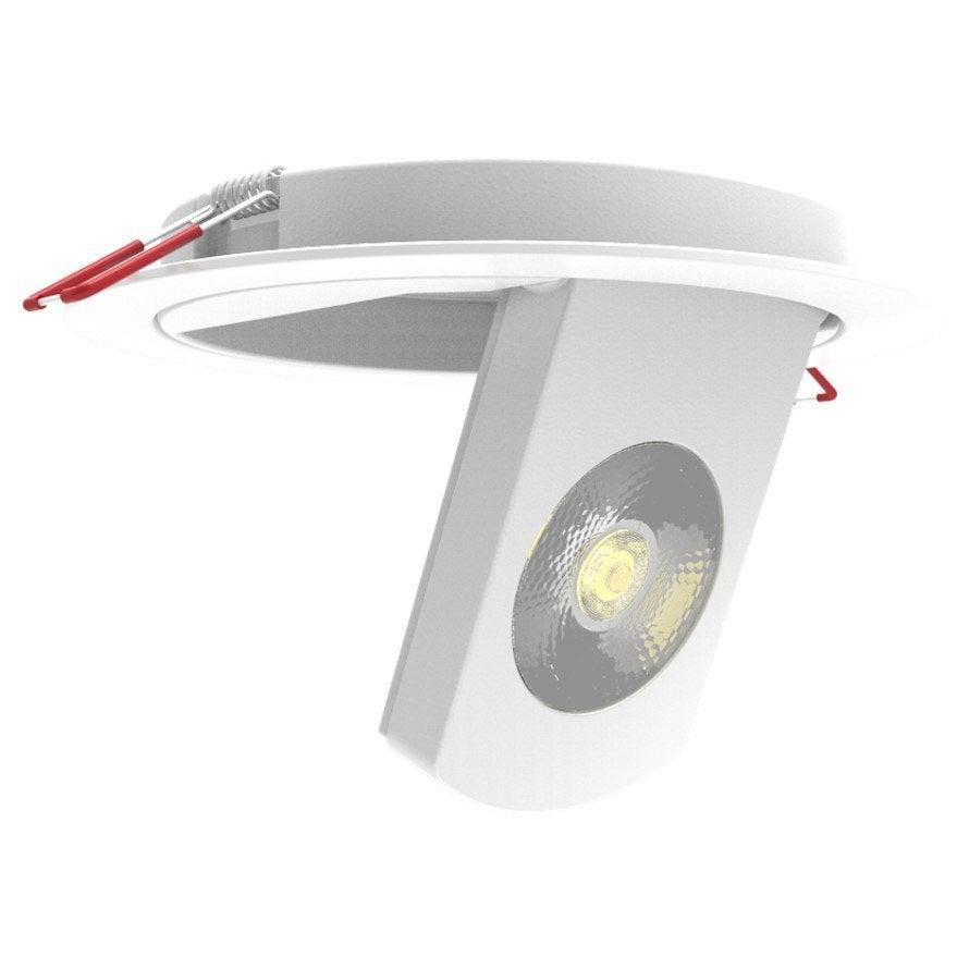 kit 1 spot encastrer spec600 orientable led xanlite led. Black Bedroom Furniture Sets. Home Design Ideas