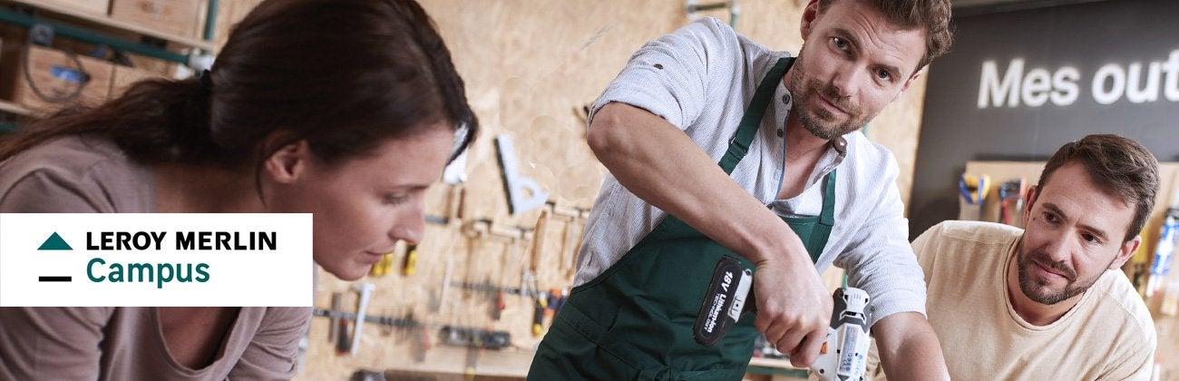 Cours De Bricolage Nos Ateliers De Bricolage En Magasin Leroy Merlin