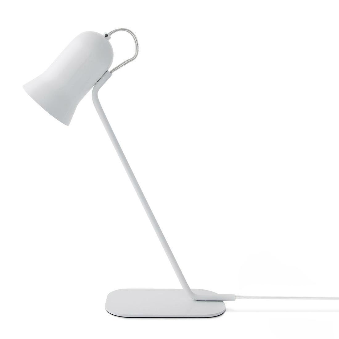 Lampe, e14 Angly LO EDITIONS, métal blanc, 11 W