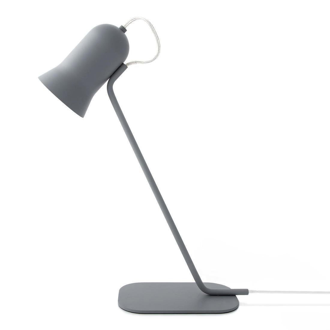 Lampe, design, métal gris, LO EDITIONS Angly