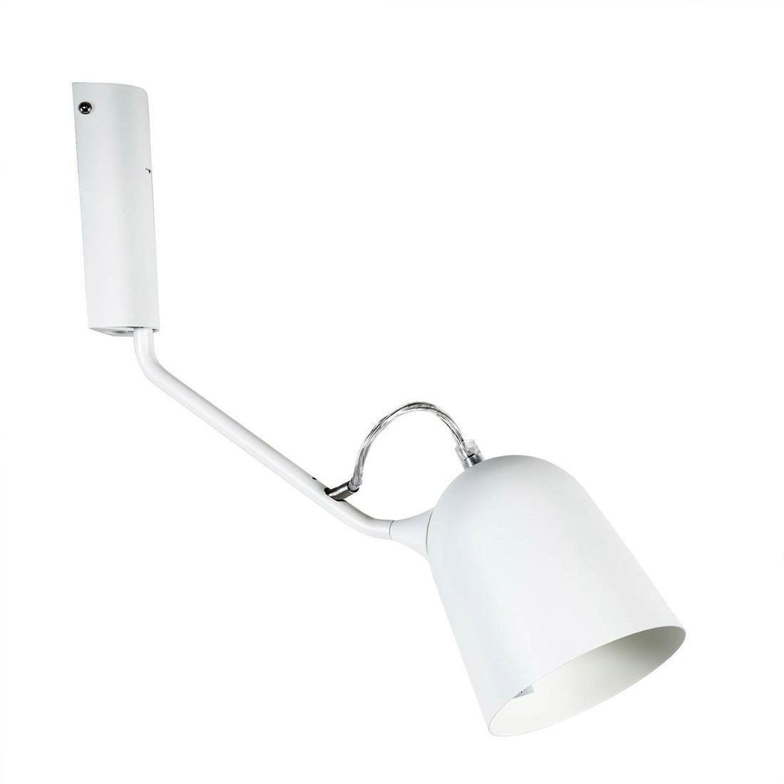 Applique, design métal blanc LO EDITIONS Magnétic orientable l37cm