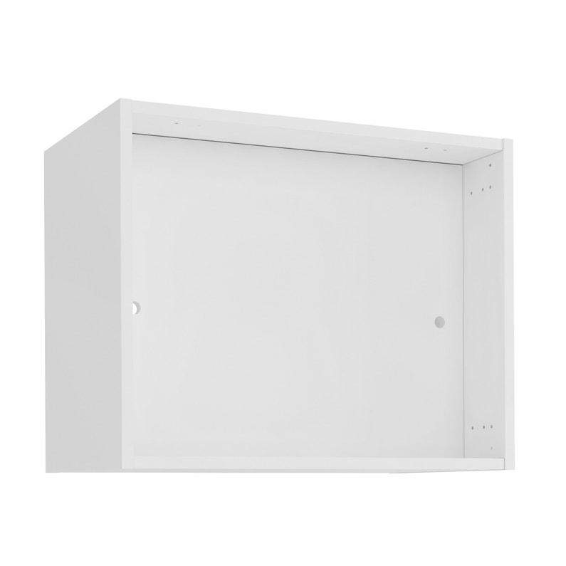 Meuble de cuisine meuble haut pour hotte DELINIA ID H.48 x l.60 x P ...