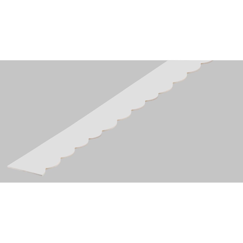 Frise Savoie En Pvc Long 198cm Section 18x6mm