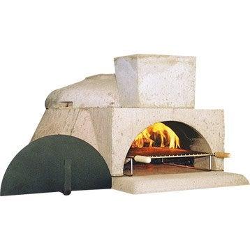 Four à pizza Lou pizzaillo, gris rosé