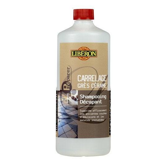 Shampooing d capant carrelage liberon 1 l leroy merlin for Produits liberon