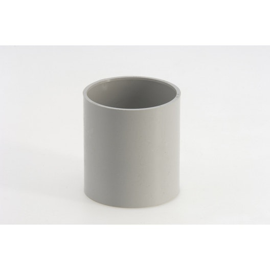 manchon pvc gris girpi d cm mm leroy merlin. Black Bedroom Furniture Sets. Home Design Ideas