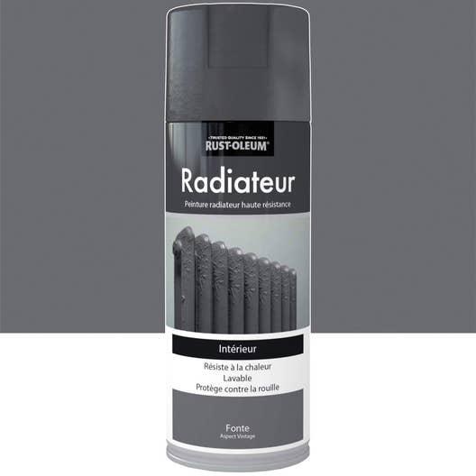 peinture arosol radiateur textur fer vieilli rustoleum fonte 04 l