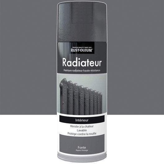 Peinture a rosol radiateur textur fer vieilli rustoleum - Peinture aerosol radiateur ...