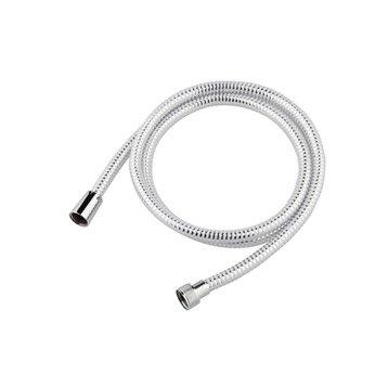 Flexible de douche blanc L.175 cm, SENSEA