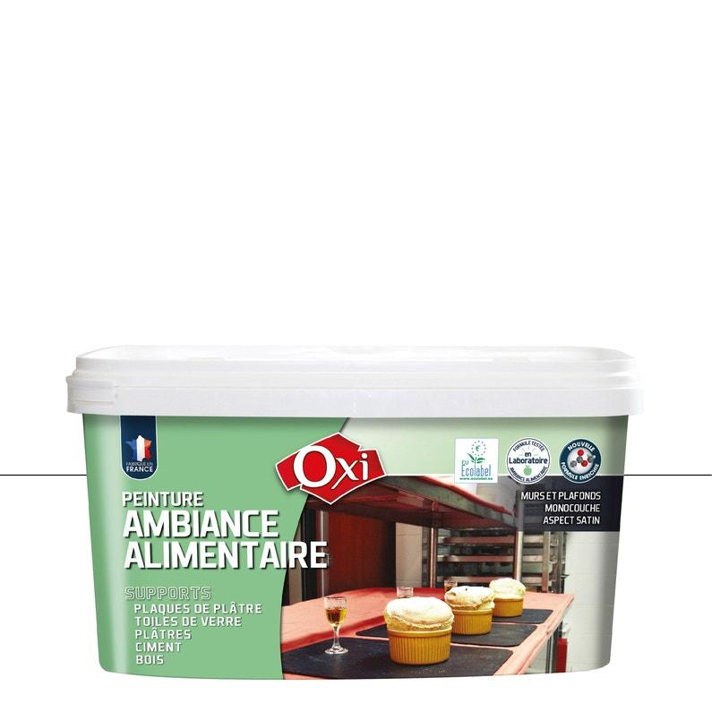 Peinture Oxi Mur Et Plafond Milieu Alimentaire Blanc Satin 25 L