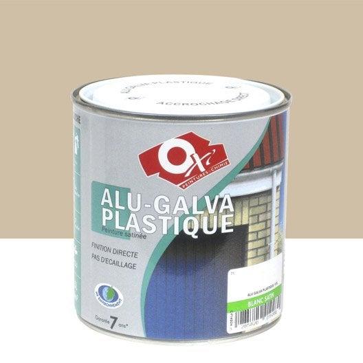 Peinture aluminium galva plastique ext rieur int rieur for Peinture revetement exterieur en aluminium