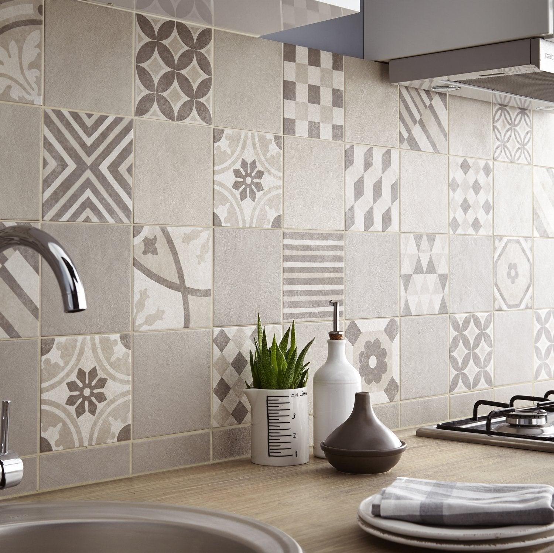 Un effet carreaux de ciment dans ma cuisine | Leroy Merlin