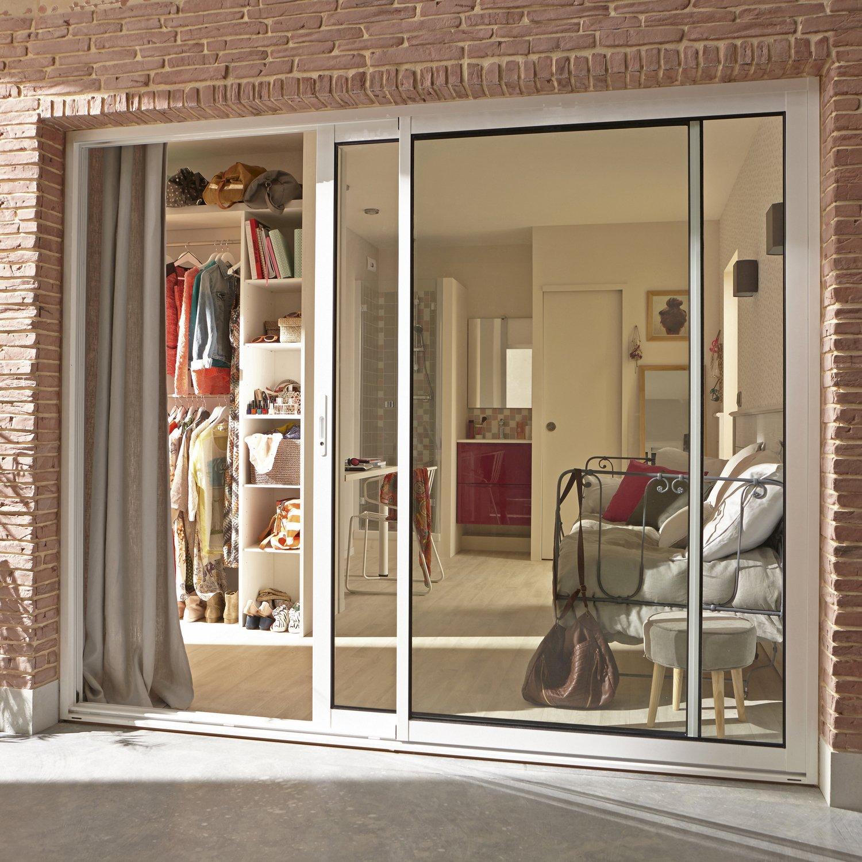 baie vitr e pour ouverture grand angle leroy merlin. Black Bedroom Furniture Sets. Home Design Ideas