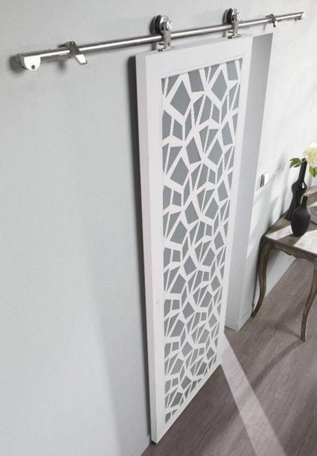 Des id es de portes coulissantes leroy merlin for Poser une porte coulissante en applique