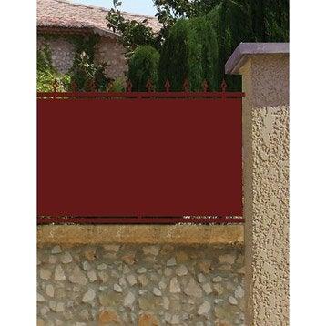 Clôture acier Serenity, divers coloris disponibles, H.105 x l.150 cm
