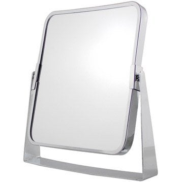 Miroir Grossissant Miroir De Salle De Bains Leroy Merlin