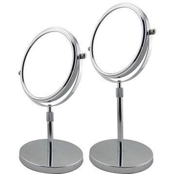 Miroir de salle de bains accessoires et miroirs de salle - Miroir rond 120 cm ...