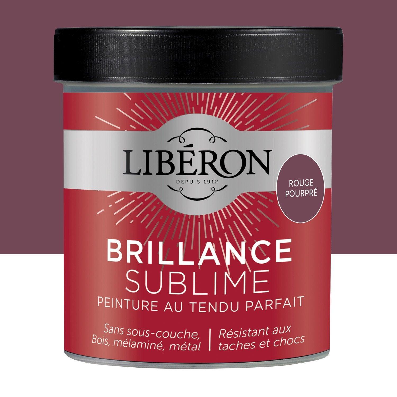 Peinture Pour Meuble, Objet Et Porte, Laqué, LIBERON, Rouge Pourpré 0.5 L  ...