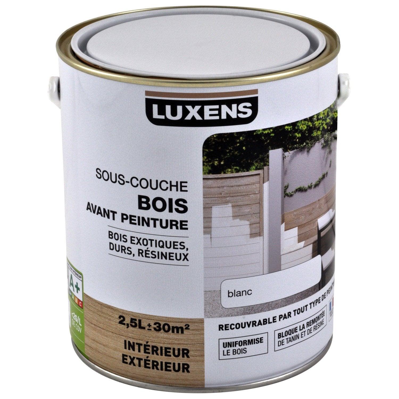 Sous Couche Bois Interieur Et Exterieur Luxens 2 5 L Leroy Merlin