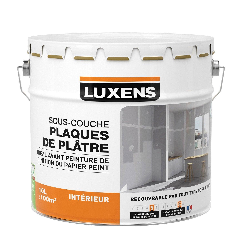 Sous Couche Plaque De Plâtre LUXENS 10 L ...