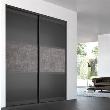 porte de placard coulissante sur mesure iliko trilogy de 601 80 cm - Porte De Placard Originale