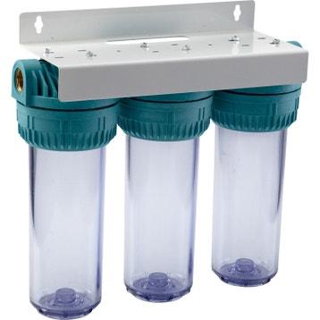 Station et filtre pour eau de pluie au meilleur prix leroy merlin - Eau de pluie potable ...