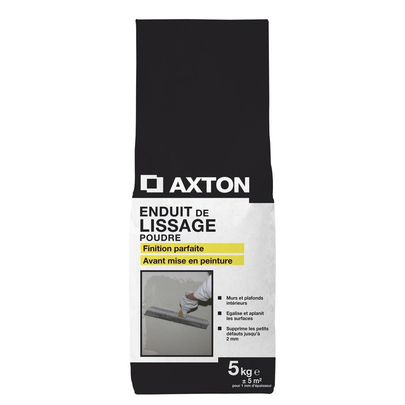 Enduit De Lissage Poudre Axton Blanc 5 Kg
