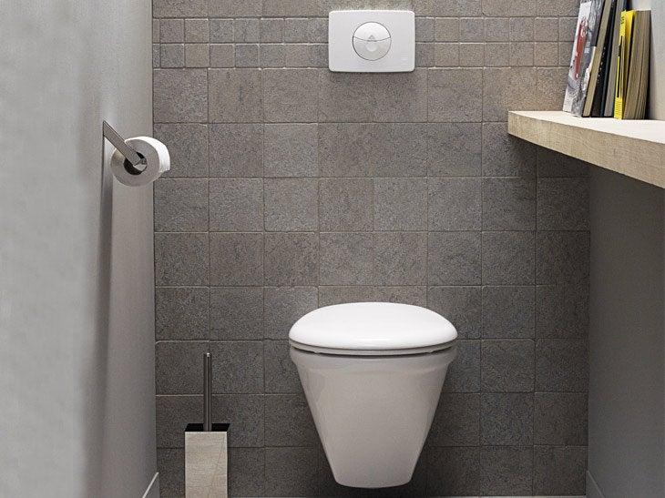Remplacer mes wc pos s par des wc suspendus leroy merlin - Remplacer un bidet par un wc ...