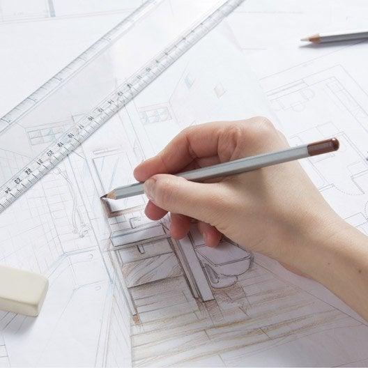 comment r aliser les plans d 39 une salle de bains leroy merlin. Black Bedroom Furniture Sets. Home Design Ideas
