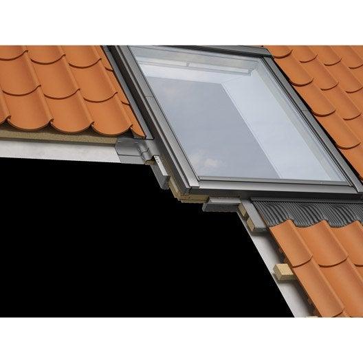 collerette d 39 tancheit standard pour fen tre de toit velux bfx uk04 1000 gris leroy merlin. Black Bedroom Furniture Sets. Home Design Ideas