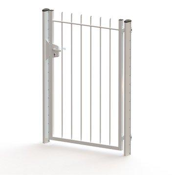 portillon aluminium bois fer pvc au meilleur prix leroy merlin. Black Bedroom Furniture Sets. Home Design Ideas