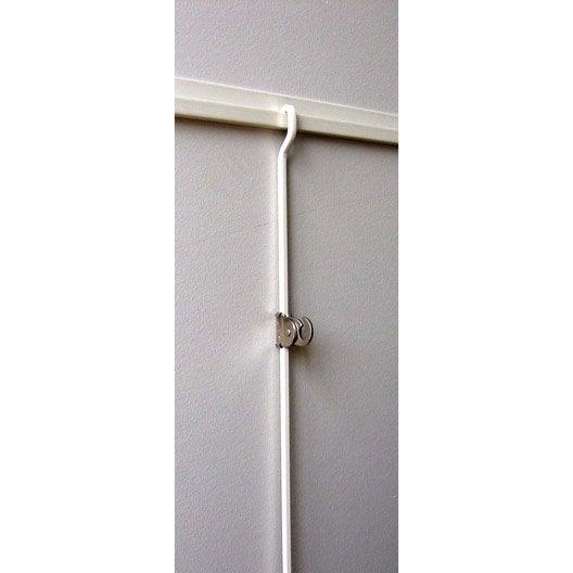 kit cimaise complet pour suspension tableaux le crochet. Black Bedroom Furniture Sets. Home Design Ideas