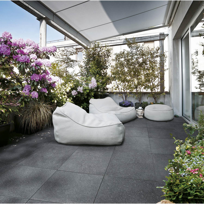 dalle gr s c rame siena gris bleut x cm x mm leroy merlin. Black Bedroom Furniture Sets. Home Design Ideas