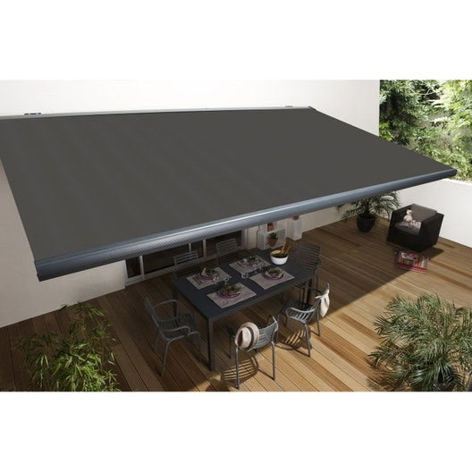 store banne motoris gold xl coffre int gral 4 x 3 5 m. Black Bedroom Furniture Sets. Home Design Ideas