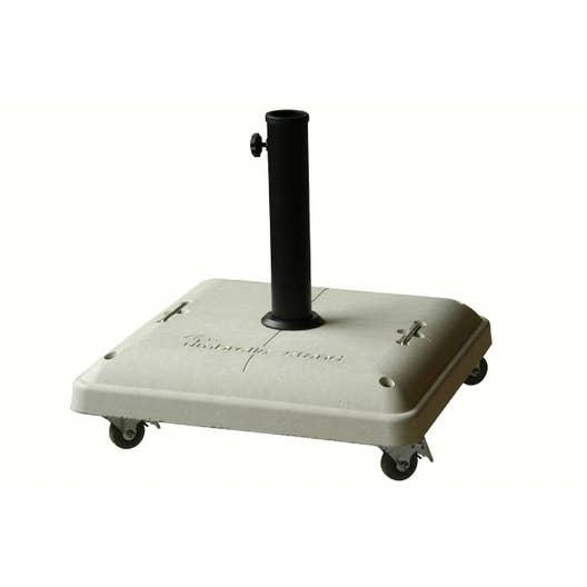 pied de parasol lest gris 50x50cm leroy merlin. Black Bedroom Furniture Sets. Home Design Ideas