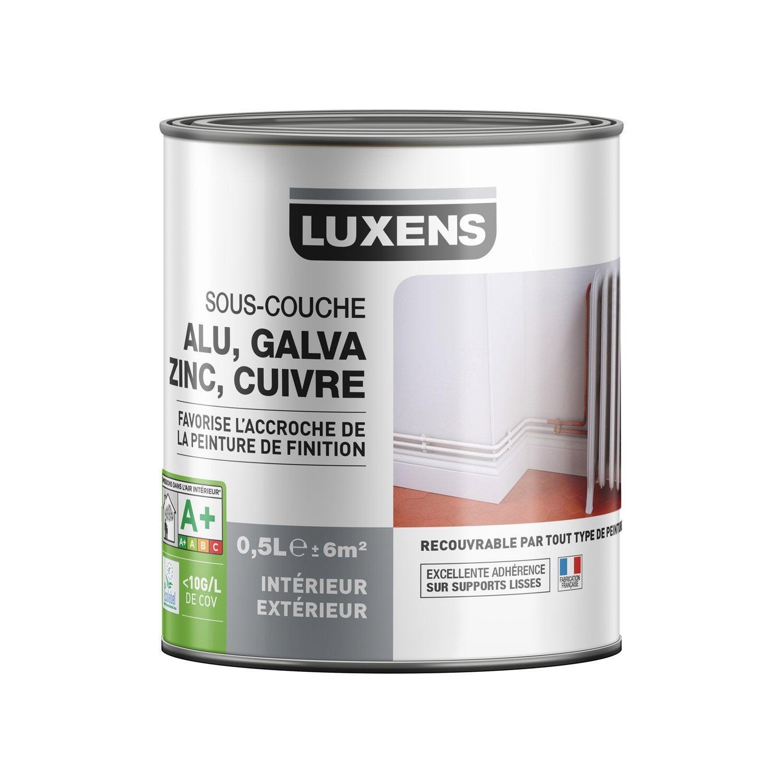 Sous Couche Pvc, Aluminium, Galva LUXENS 0.5 L