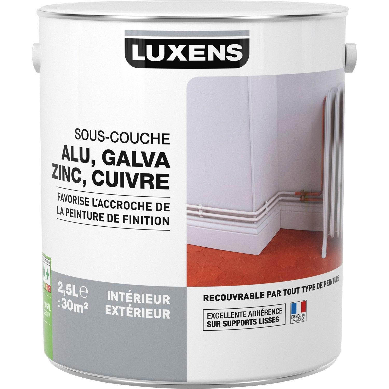 sous couche pvc aluminium galva luxens 2 5 l leroy merlin. Black Bedroom Furniture Sets. Home Design Ideas