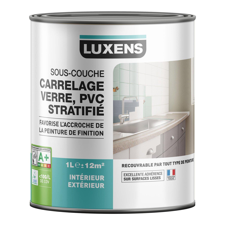 Souscouche Carrelage Stratifié Pvc Aluminium Galva LUXENS - Peinture sous couche carrelage