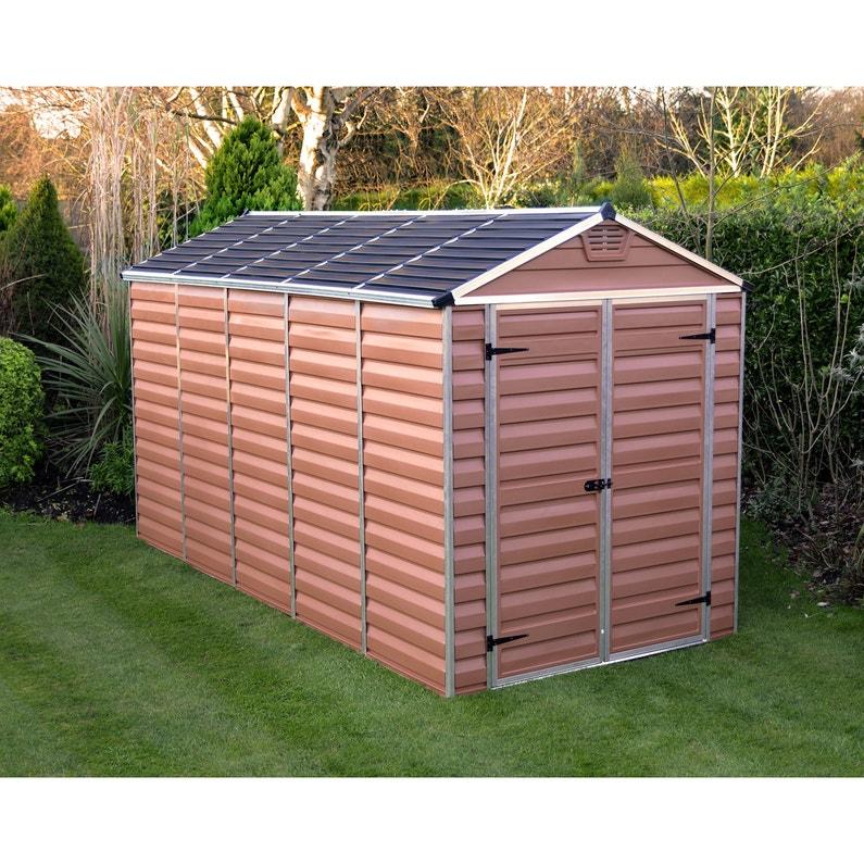 Abri De Jardin Skylight Ambre 66 M² Aluminium Et Polycarbonate Palram
