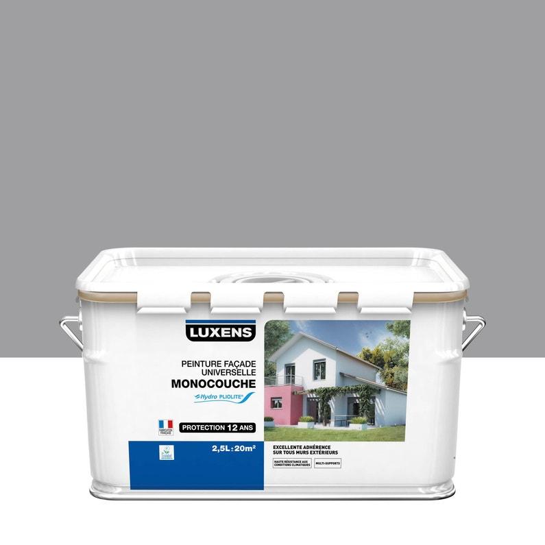 Peinture Façade Universelle Luxens Gris 2 2 5 L