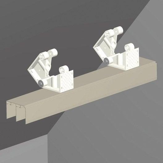 kit sous pente spaceo blanc cm leroy merlin. Black Bedroom Furniture Sets. Home Design Ideas