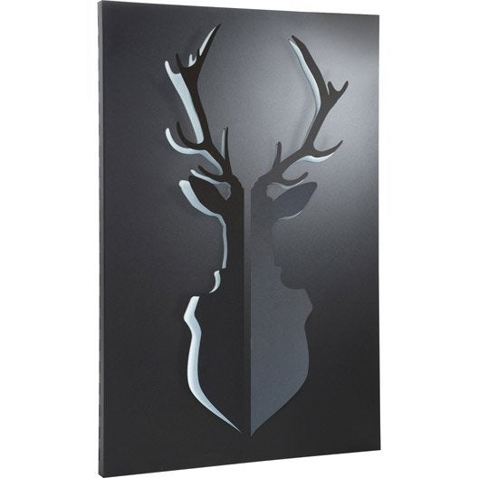 plaque de protection murale equation cerf x. Black Bedroom Furniture Sets. Home Design Ideas