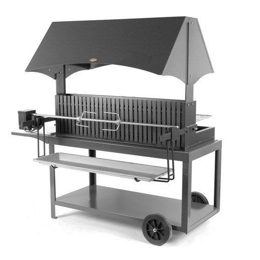 Barbecue au charbon de bois lemarquier mechoui leroy merlin for Fabrication charbon de bois